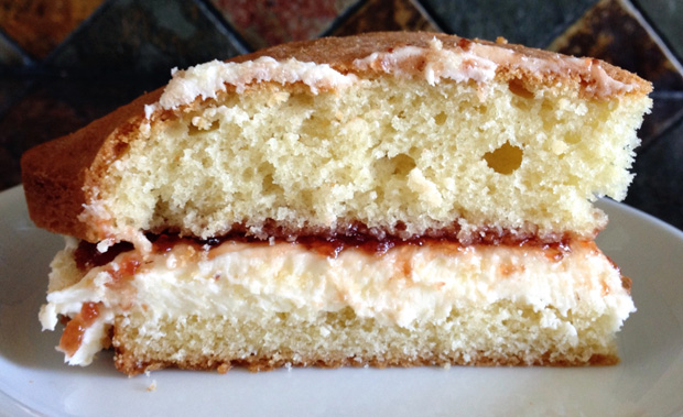 Hearty Slice of Cake - Victoria Sponge