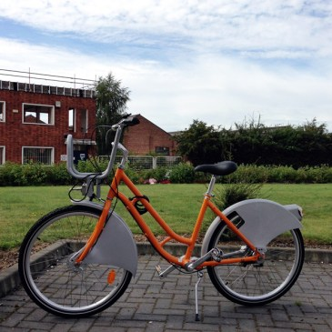 Lincoln Launches Hirebike Scheme