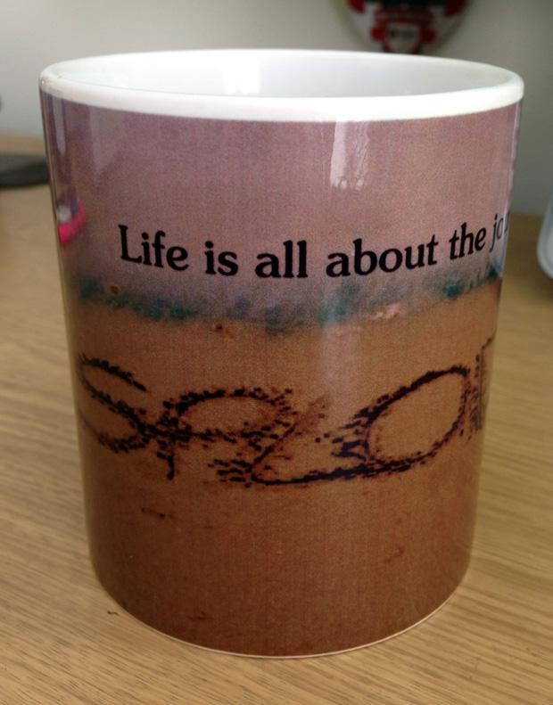 Splodz Blogz Mug from 123Print.co.uk