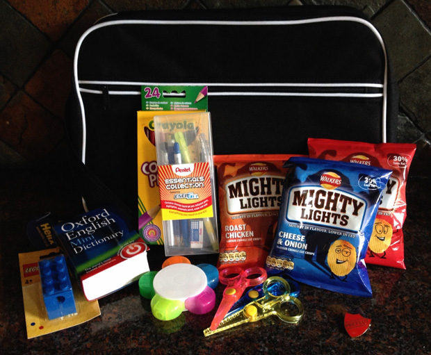Walkers Mighty Lights Back to School Pack