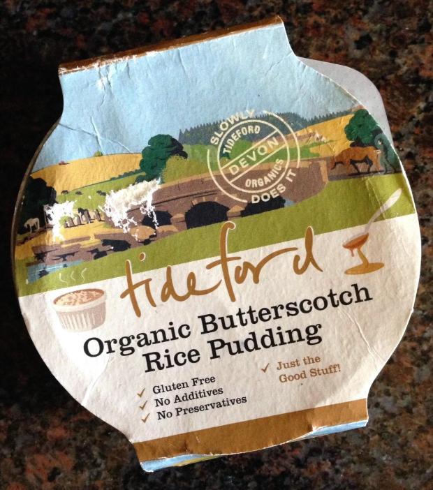 Tideford Organics Rice Pudding