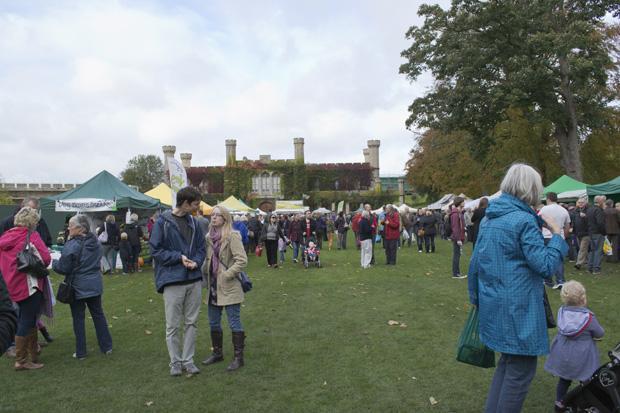 Lincolnshire Sausage Festival, Lincoln Castle