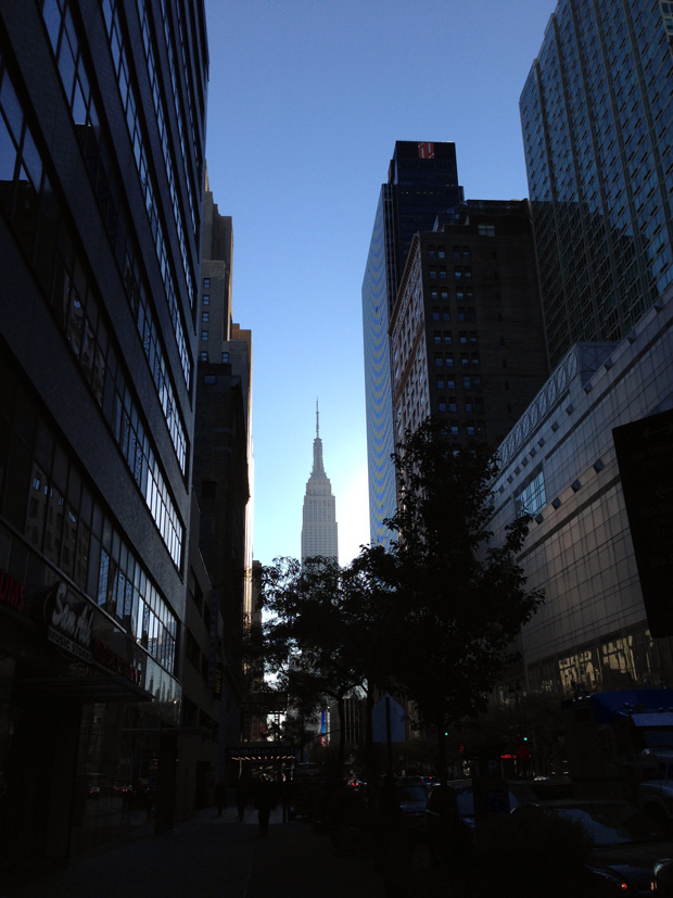 Empire State Building (along 34th) in the Morning Sun