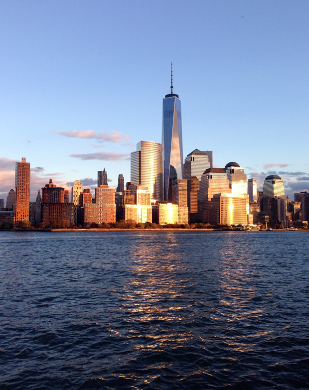 Manhatten from the Water