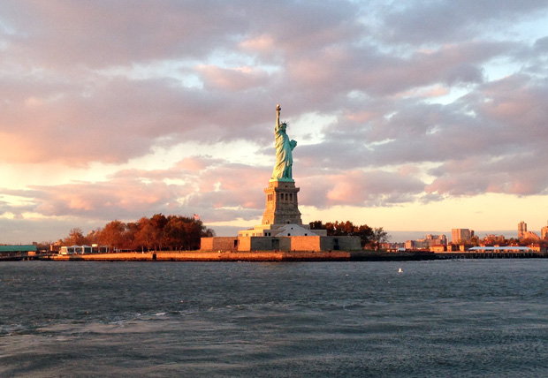 Statue of Liberty from the Water