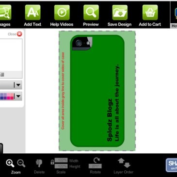 Review: Wrappz Personalised iPhone 5 Case