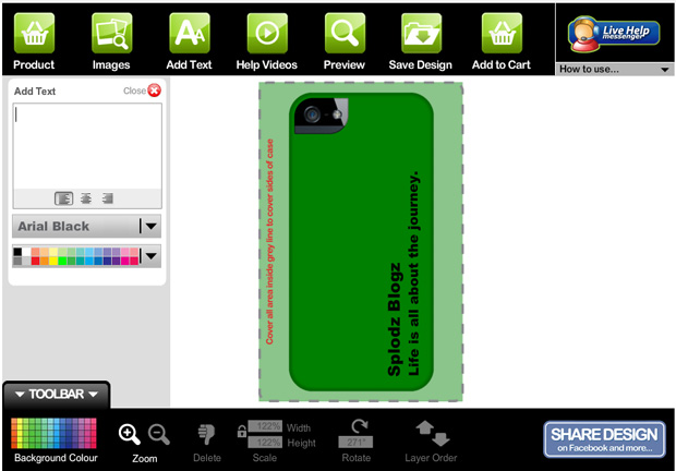 My Wrappz Case Design