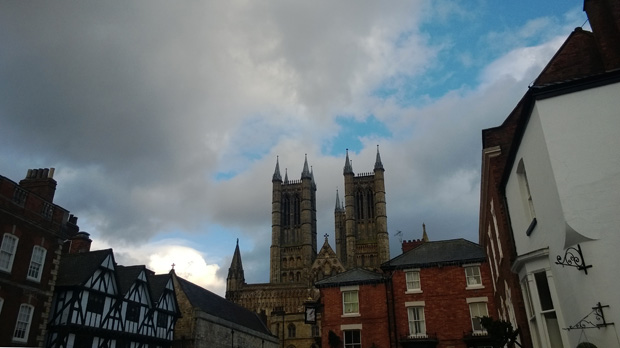 Lincoln Cathedral taken on a Nokia Lumia 925