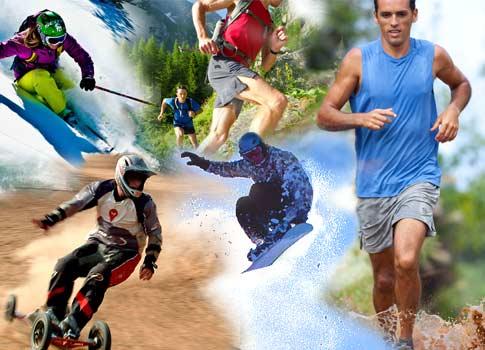 Why Outdoor Athletes Should Wear Contacts