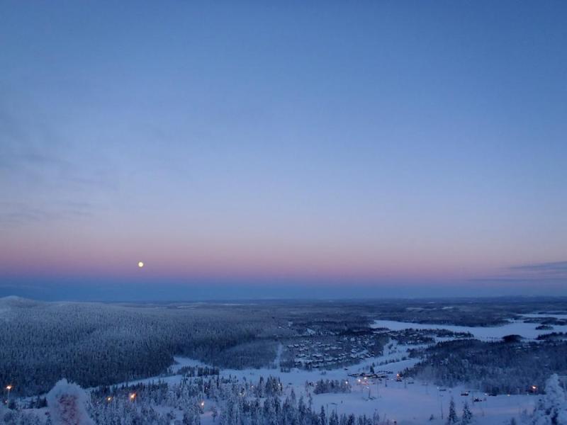 Winter Holiday in Ruka, Finland