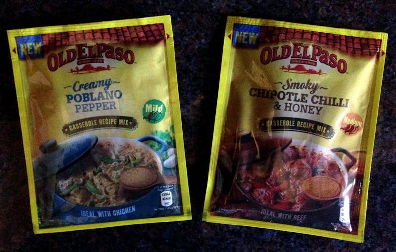 Old El Paso Casserole Mixes