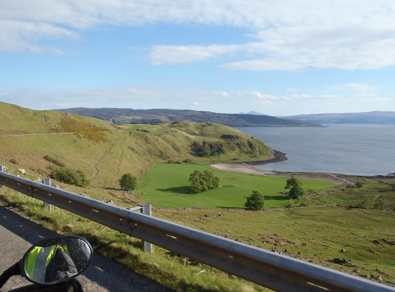 Riding back towards Fort William from Ardnamurchan Point