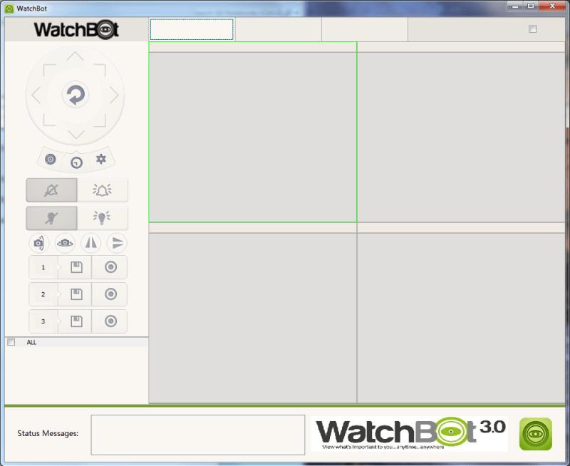 Watchbot Desktop App Screenshot