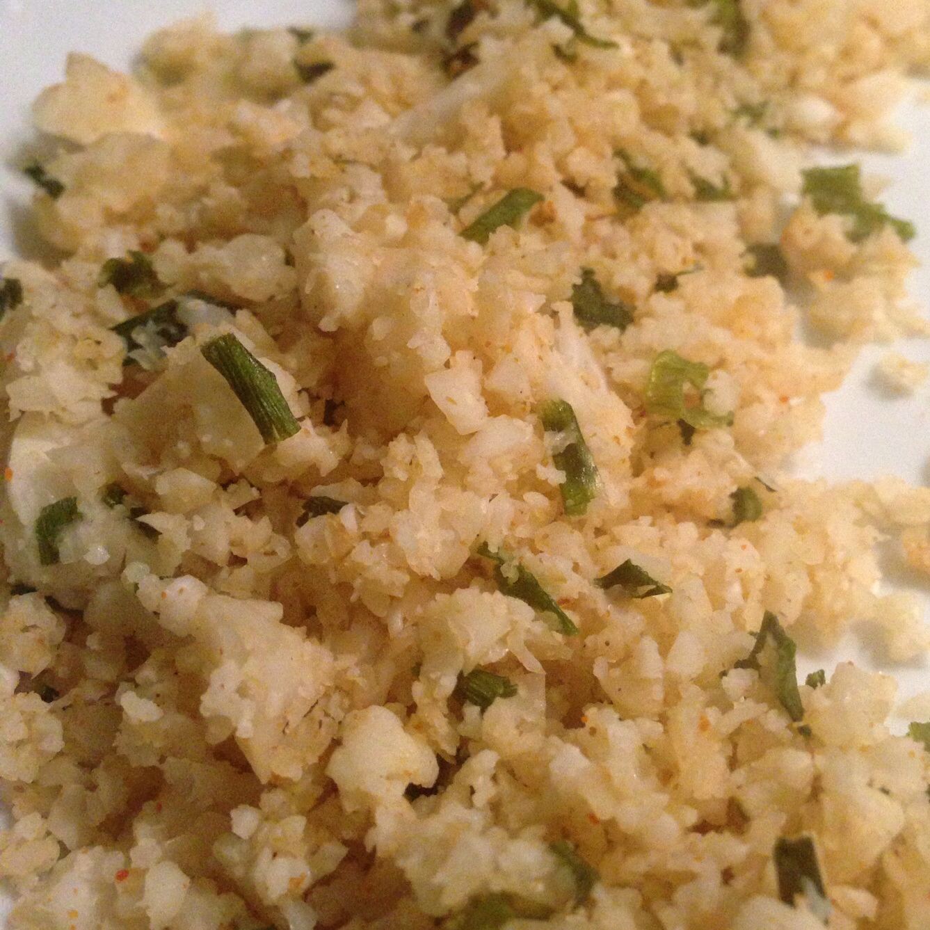 "Recipe | Cauliflower Rice… ""Caulirice"""
