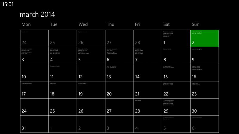 Nokia Lumia 1320 Screenshot