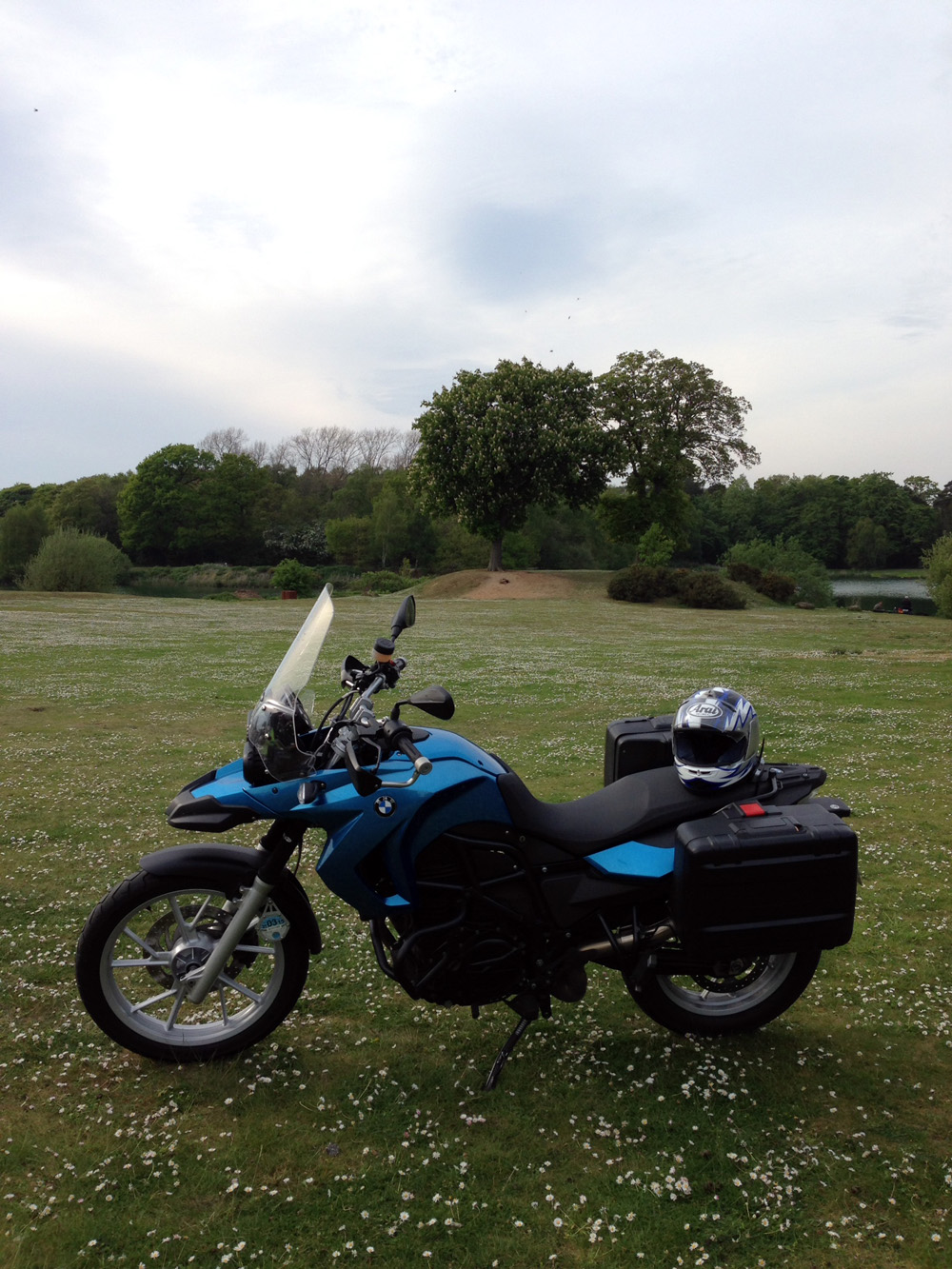 05 May - F650GS in the Countryside
