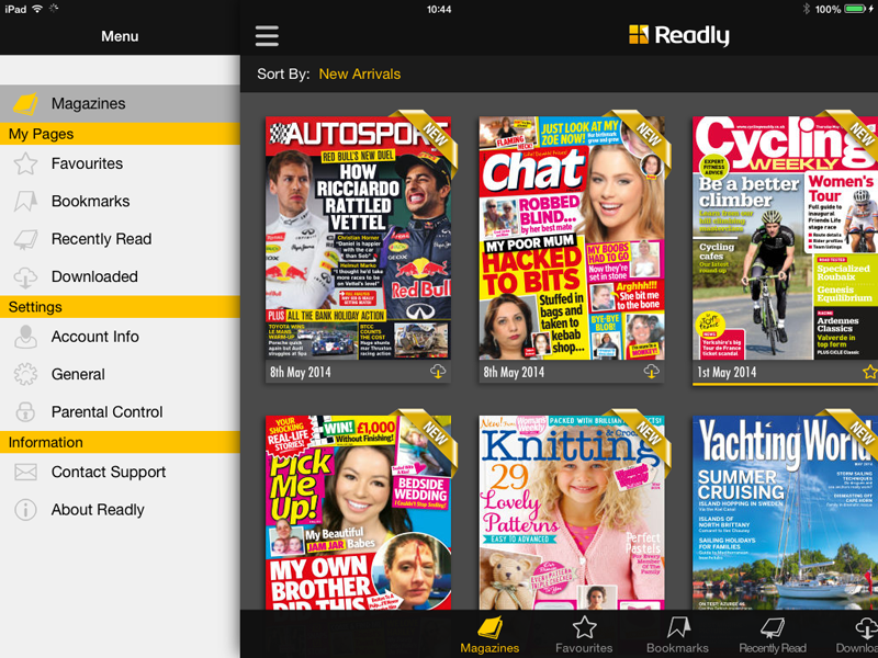 readly4 - How To Get Pdf Files Of Your Magazines From Readly