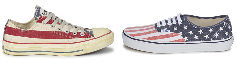USA Converse vs USA Vans