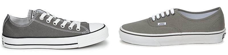 Converse versus Vans