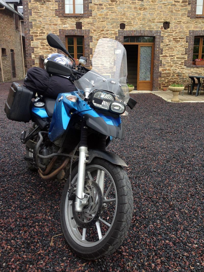 28 May - Bike at La Tringale, Normandy