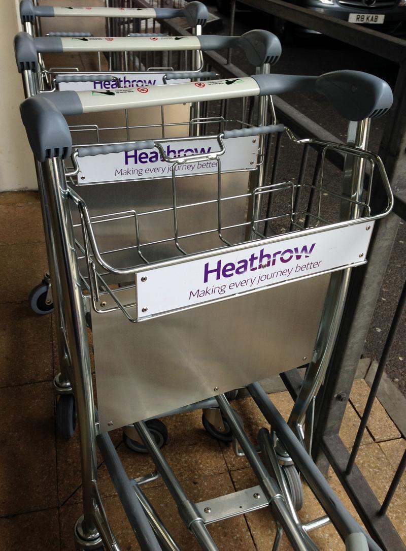 Heathrow Luggage Carts