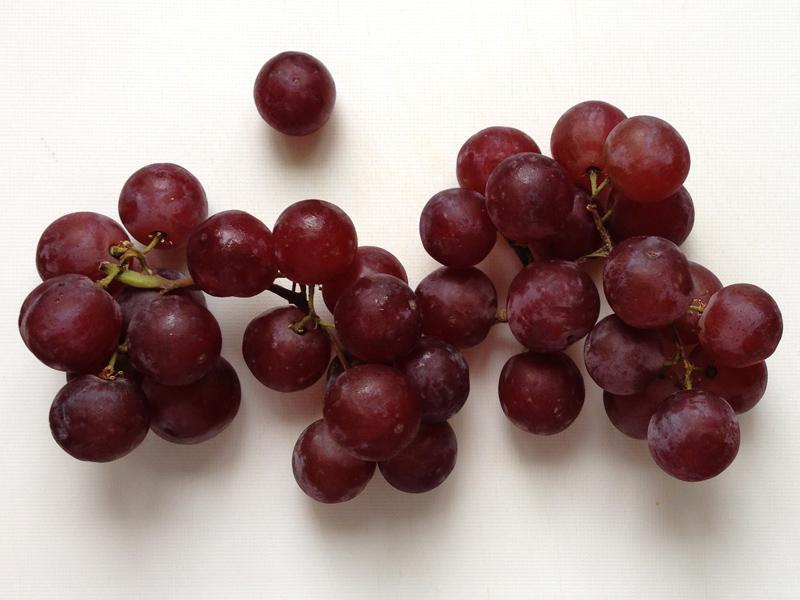 11 July - Grapes