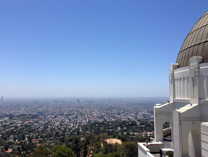 View of LA from the Griffith Observatory