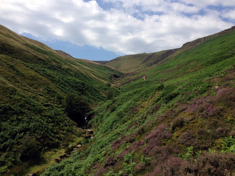 25 July - Grinds Brook, Kinder Scout