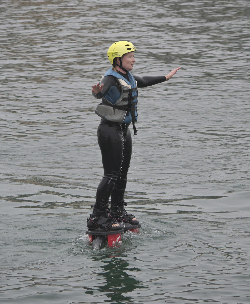 Fly Boarding at Tattershall Lakes