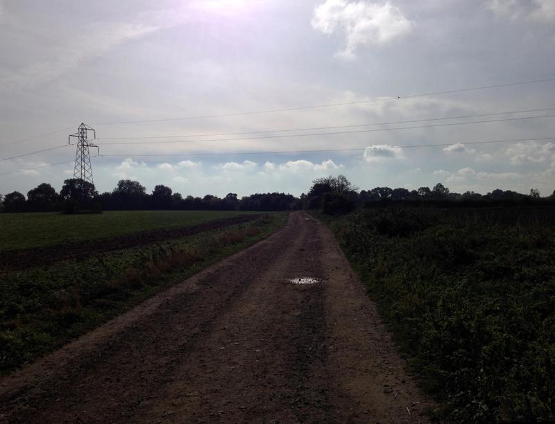 Heading towards Scopwick