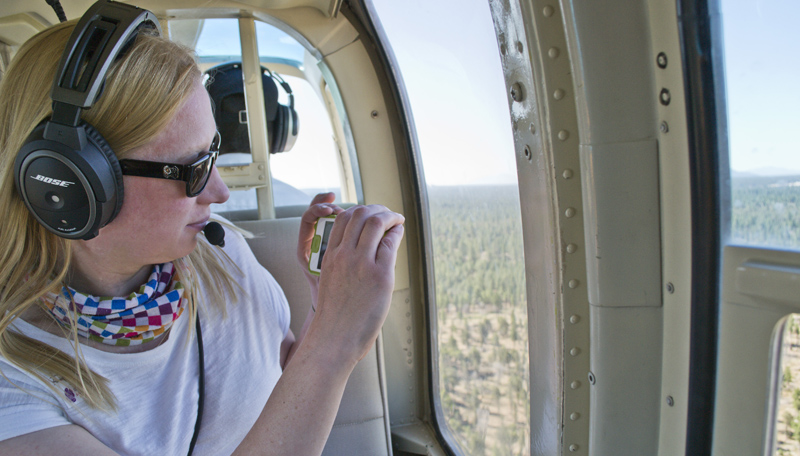 Using Lifedge in a Helicopter, as you do
