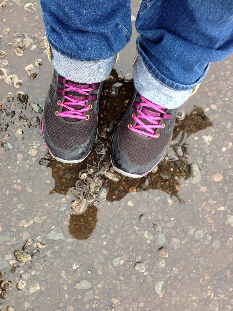 Merrell Verterra Goretex Boots in the Rain