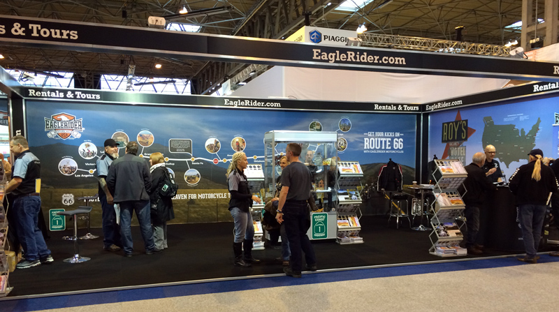 The Lost Adventure and Eagle Rider at Motorcycle LIve