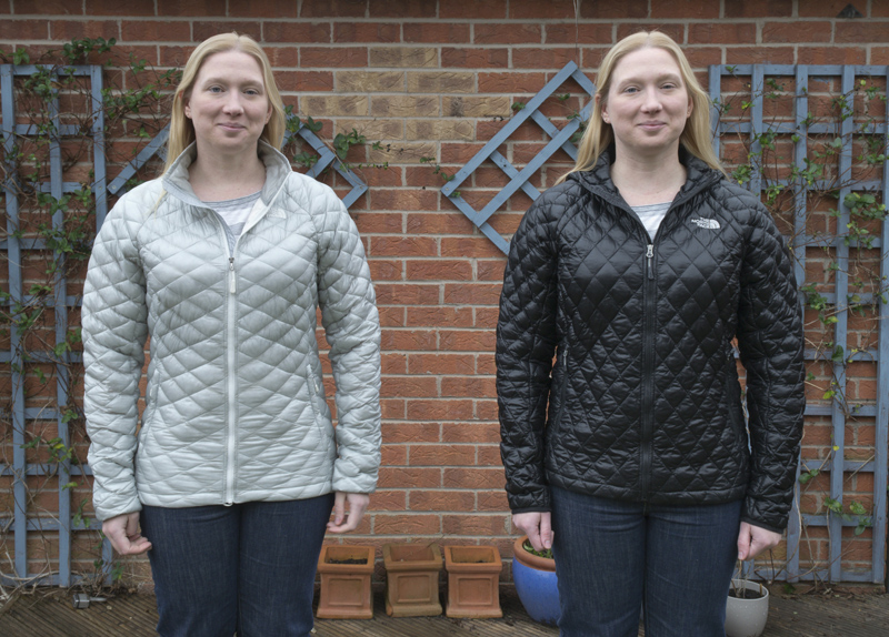 The North Face Thermoball Jacket with Active Fit vs Relaxed Fit