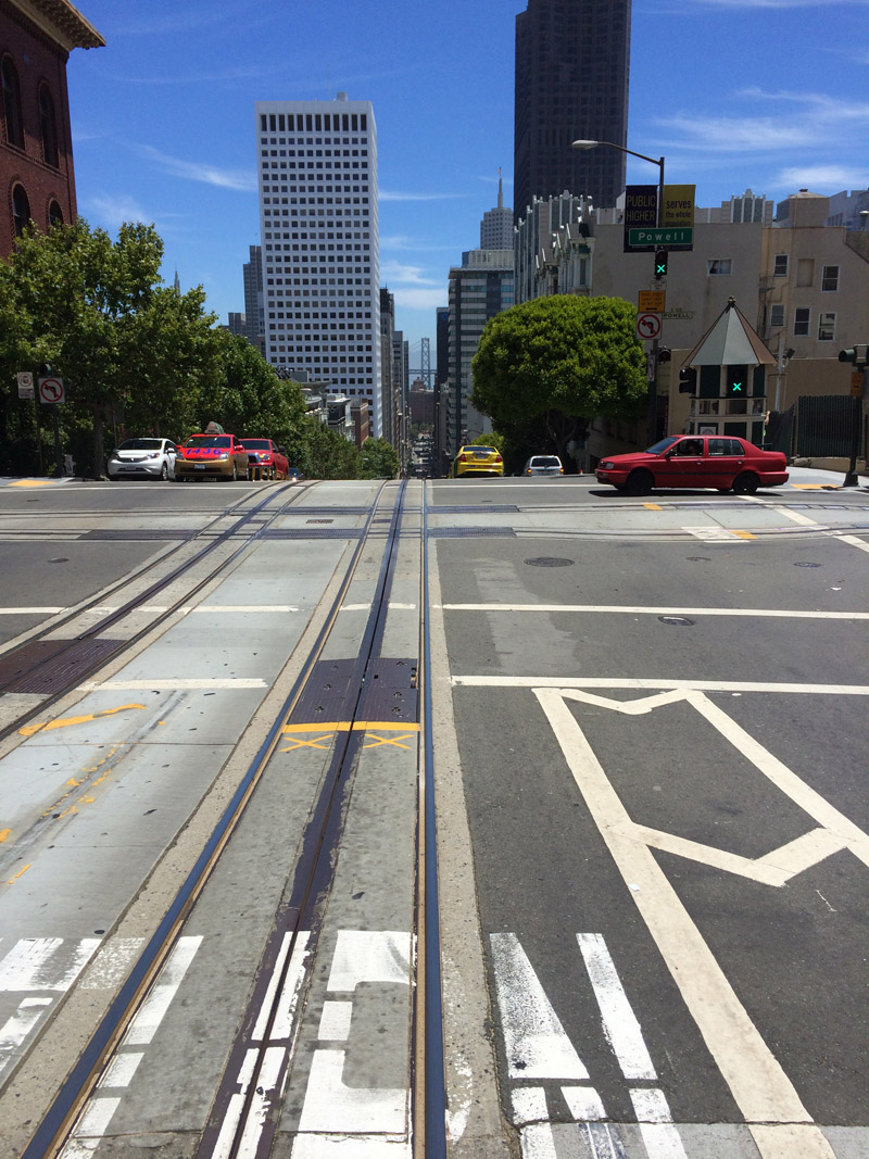From the San Francisco Cable Car