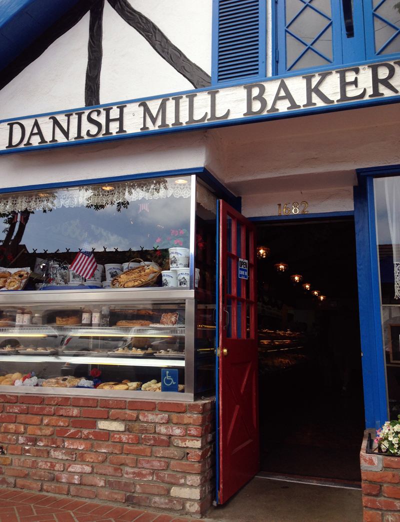 Bakery at Solvang, a Danish Town