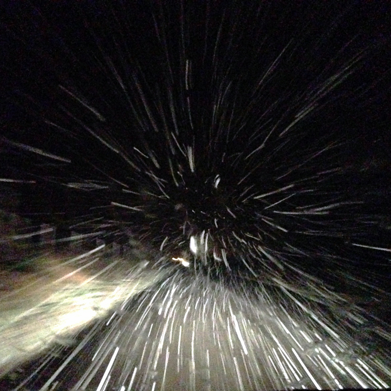 Snow from the Passenger Seat