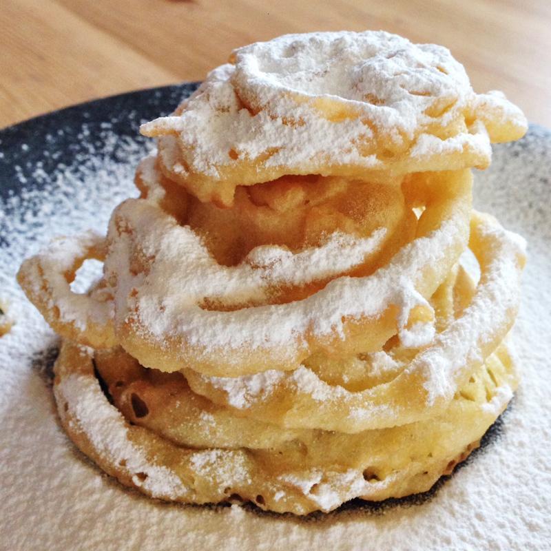 Homemade American Treat – Funnel Cake