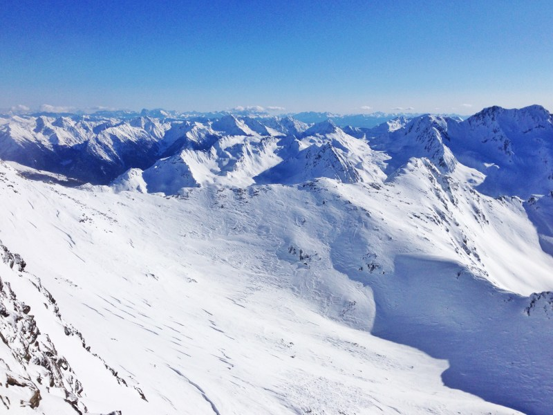 From the top of a Mountain - The Alps and Dolomites from Hochgurgl