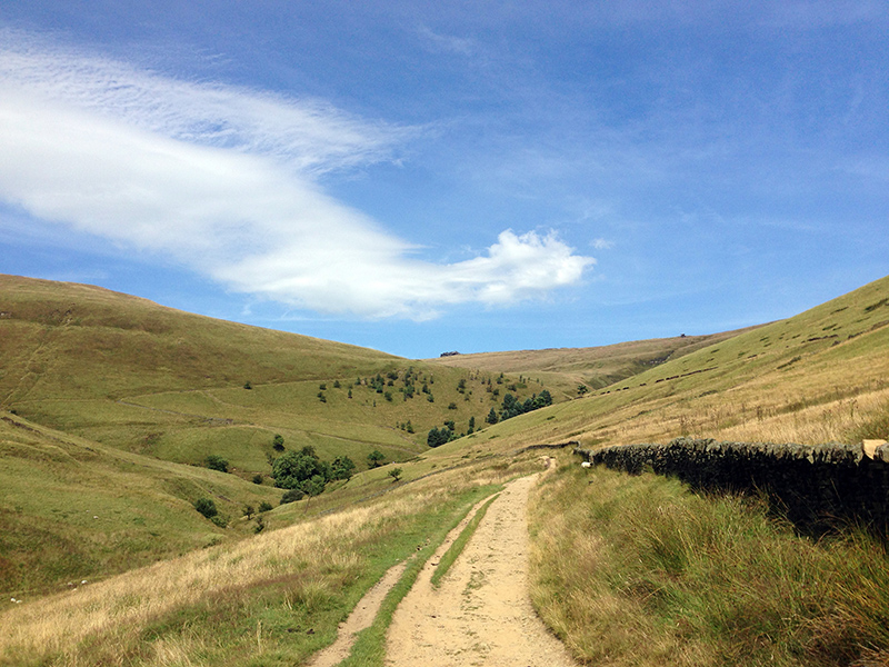 Destination Addition - Hiking up Kinder Scout