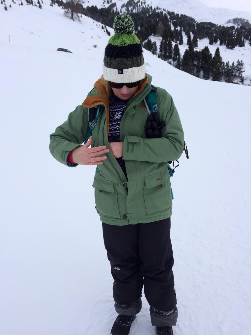 Me in Obergurgl, Austria
