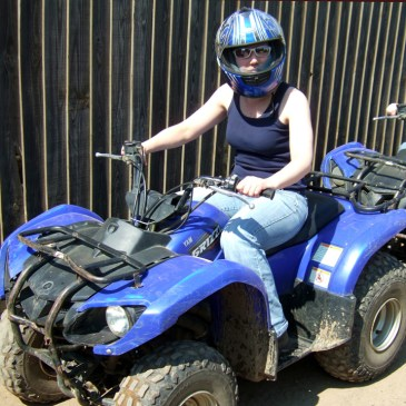 Quad Bike Safari at Center Parcs