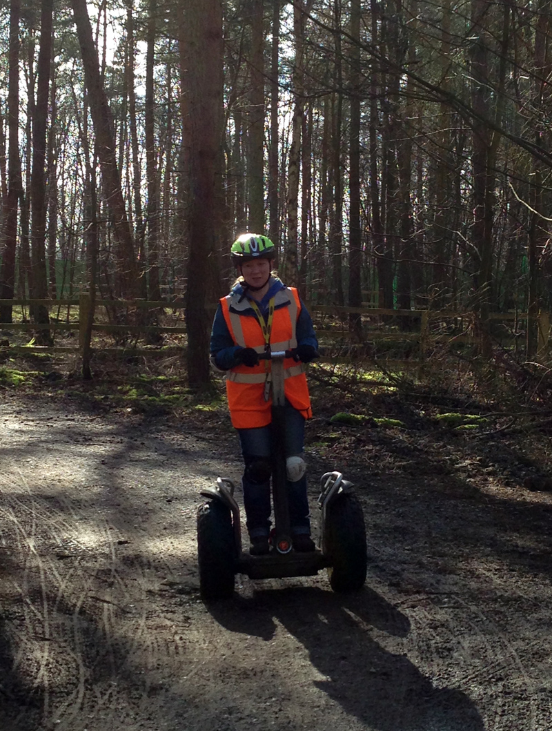 Segway Experience at Center Parcs Elveden Forest April 2014