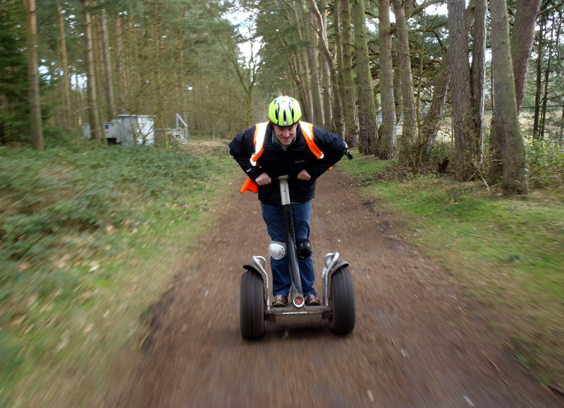 Segway Experience at Center Parcs