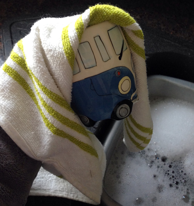 Washing Up - Drying Up