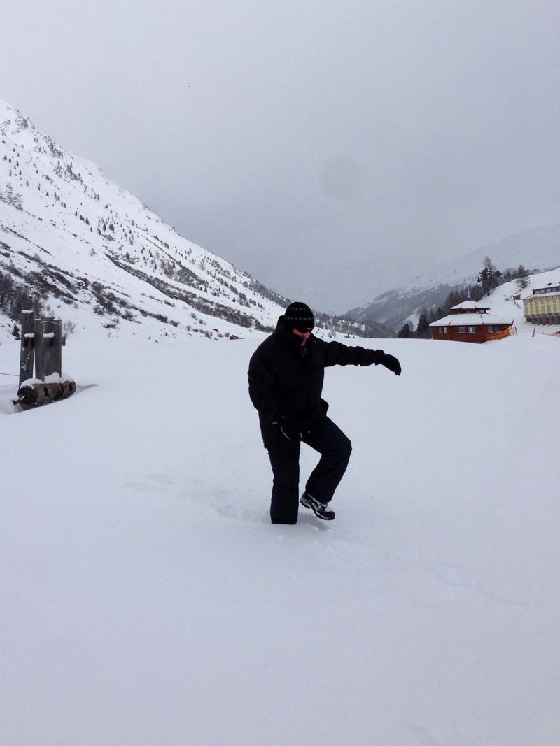 Winter Hike in Obergurgl - LincsGeek