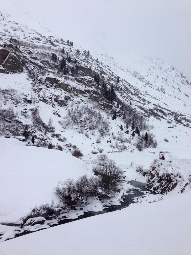 Winter Hike in Obergurgl
