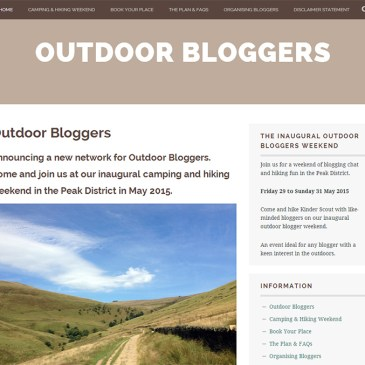 Announcing the Outdoor Bloggers Network