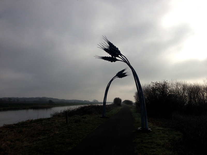 The Water Railway from Lincoln to Boston - Sculpture