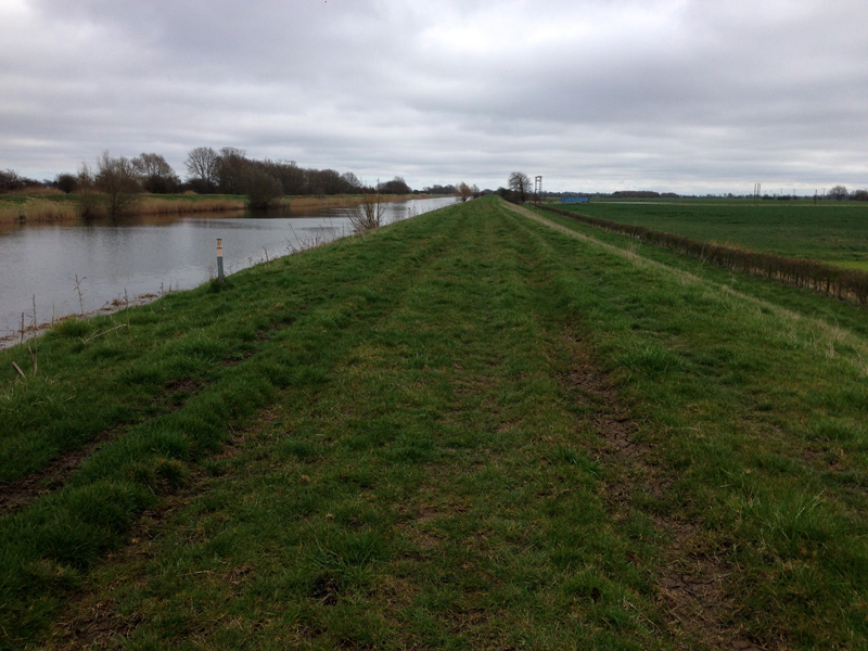 The Water Railway from Lincoln to Boston  - Footpath